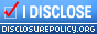 disclosure badge-small