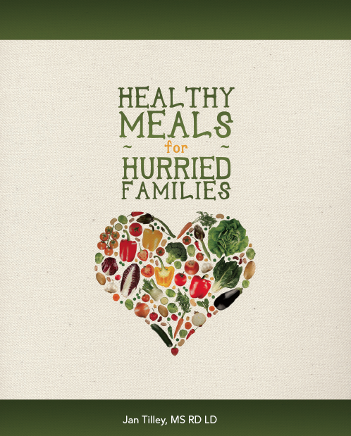 Healthy Meals for Hurried Families Cover
