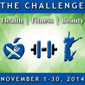 Health Fitness Beauty Quest Challenge Logo