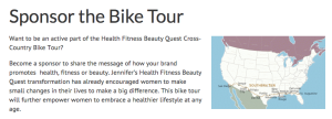 sponsor bike tour image
