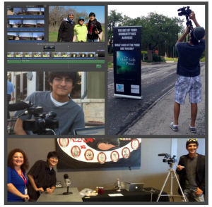 Documentary Team Collage