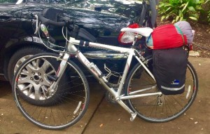Road Bike Fully Loaded
